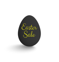 easter sale egg vector image