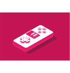 gaming isometric vector image