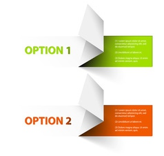 options red green hranate vector image vector image