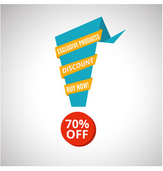 Sale banner template design vector