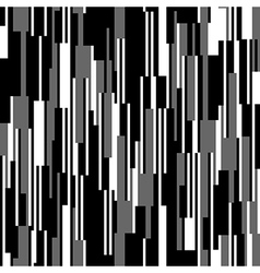 Seamless black and white pattern vertical lines vector