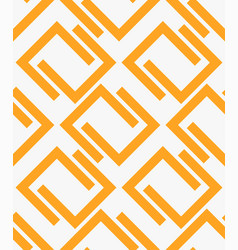 Seamless repeatable pattern with u shaped forms vector