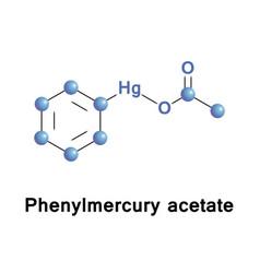 Phenylmercuric acetate disinfectant vector