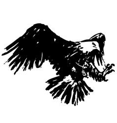 Eagle 8 vector image vector image