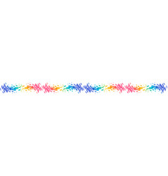 Abstract curve ornament vector