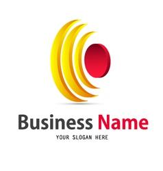 sun icon design logo vector image vector image