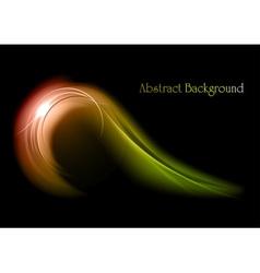 abstract shape smoke vector image