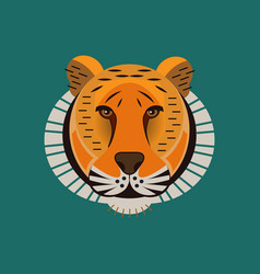 animal portrait vector image