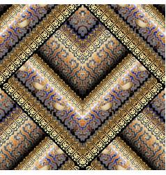 Elegant greek key meanders seamless pattern vector