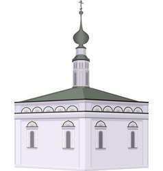 famous russian building church vector image