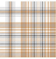 Gold and platinum color check plaid seamless vector