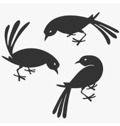 Group of Birds vector