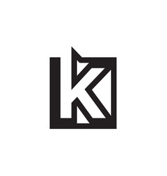 K initial lines square vector