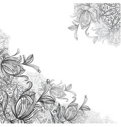 mandalas and ornamental flowers vector image