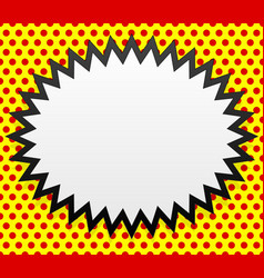 popart background vector image