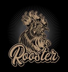 Rooster fighting thailand chicken 4 vector