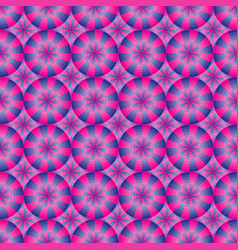 seamless geometrical pink and blue pattern vector image