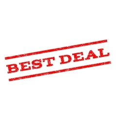 Best Deal Watermark Stamp vector image