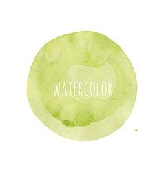 Watercolor Blob vector image vector image
