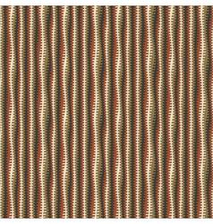 wavy textured stripes vector image vector image