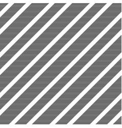 black white diagonal striped seamless pattern vector image