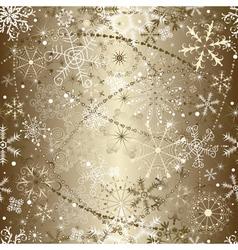 Brilliant golden christmas vector