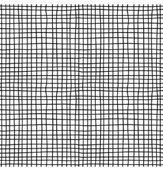 Canvas material black and white seamless pattern vector