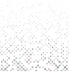 Colorful abstract circle pattern - snowfall vector