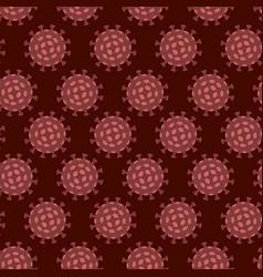 coronavirus covid19-19 2019-ncov seamless pattern vector image