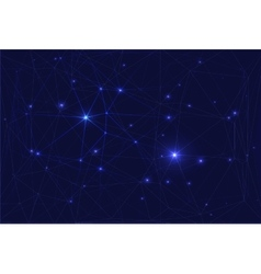 Cosmic constellation with stars vector