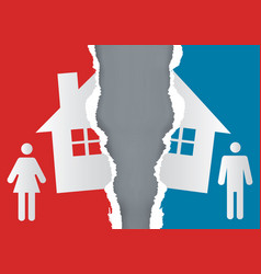 Division property at divorce vector