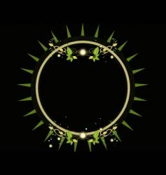 leaf design vector image