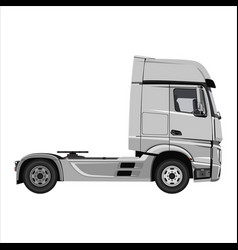 truck tractor unit vector image
