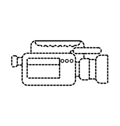 video camera microphone gadget professional vector image