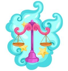 Zodiac signs - Libra vector