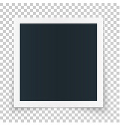 Square photo place concept single isolated object vector