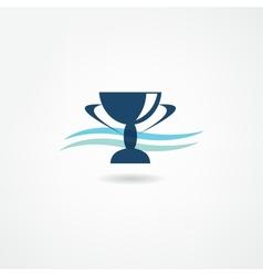 champion icon vector image
