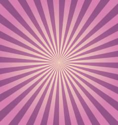 purple rays vector image