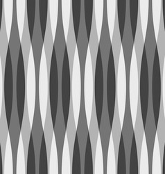 Black White and Gray Wavy Background vector image