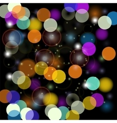 Colorful Blurred Light Background vector