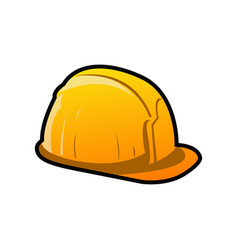 helm construction colored mascot logo vector image