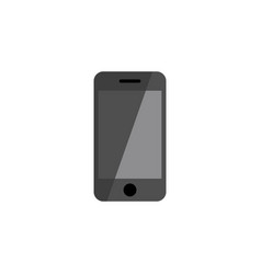 Isolated smartphone flat icon telephone vector