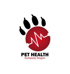 pet health for healthy pet vector image