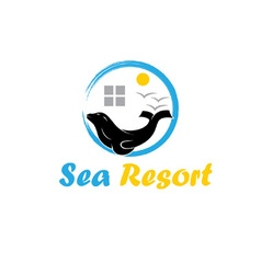 Sea resort vector