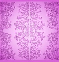 Seamless vintage pink pattern vector