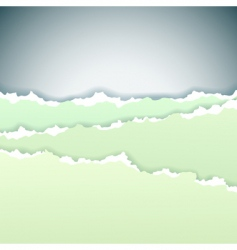 torn background vector image