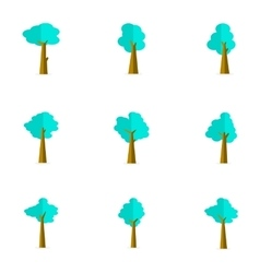Tree set flat vector