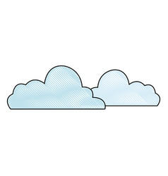 cloud computing data connection information vector image