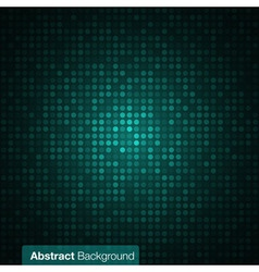 Abstract Dark Green Background vector image