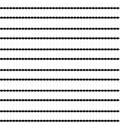 dots black white seamless pattern background vector image